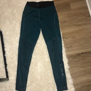 Turquoise DRI-FIT Nike leggings